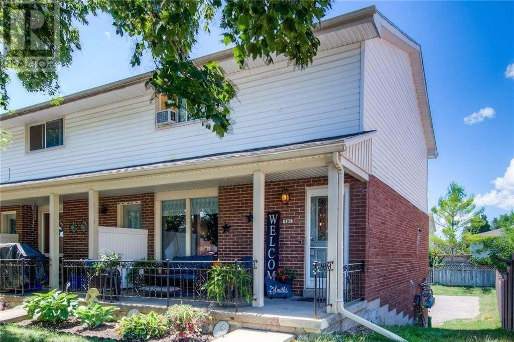 Townhouse for sale at 300 Dufferin St Stratford Ontario - MLS: 30825690