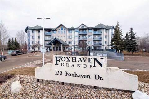 Condo for sale at 100 Foxhaven Dr Unit 301 Sherwood Park Alberta - MLS: E4149160