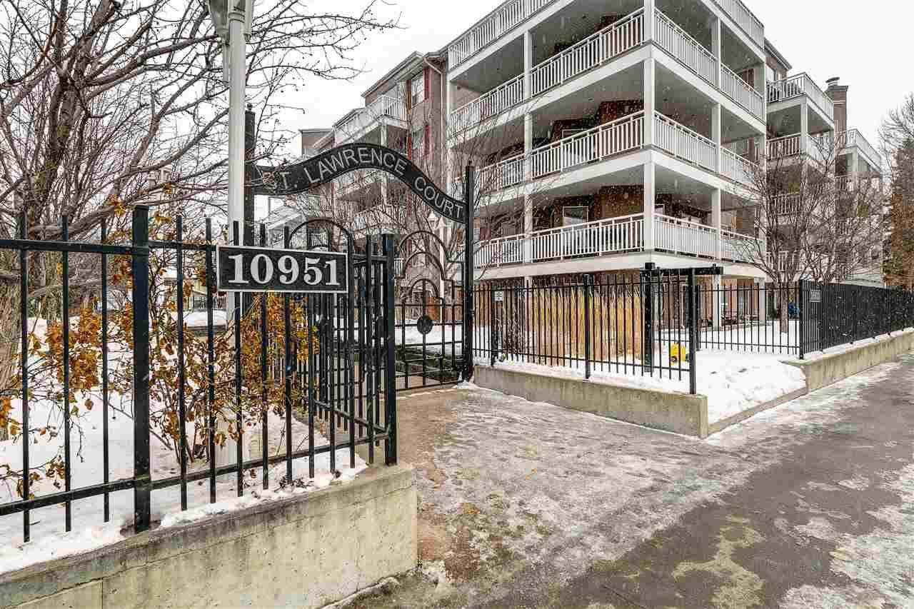 Condo for sale at 10933 124 St Nw Unit 301 Edmonton Alberta - MLS: E4186746