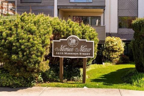 Condo for sale at 1619 Morrison St Unit 301 Victoria British Columbia - MLS: 411527