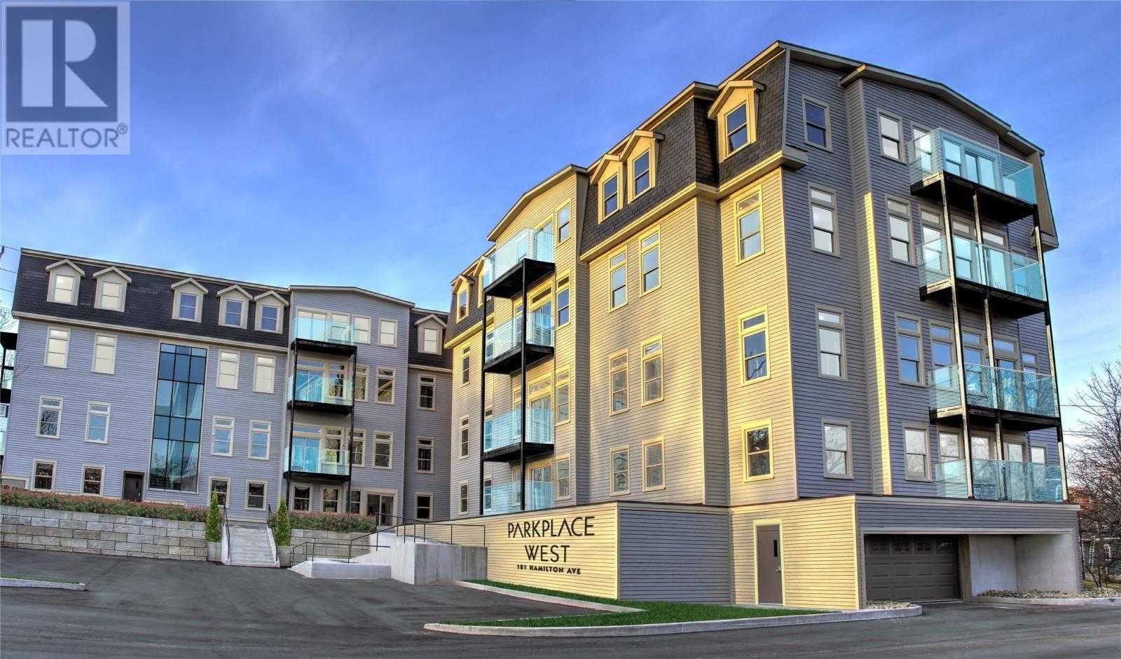 House for sale at 181 Hamilton Ave Unit 301 St. John's Newfoundland - MLS: 1196263