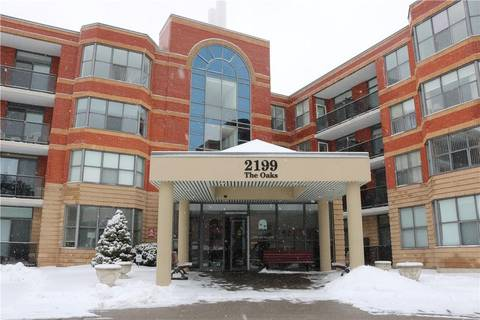 Condo for sale at 2199 Sixth Line Unit 301 Oakville Ontario - MLS: H4046129