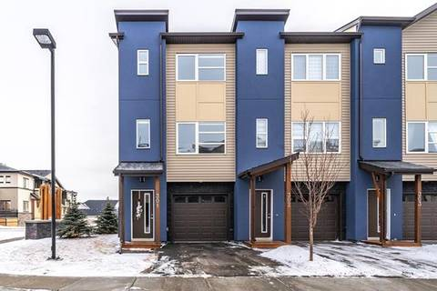 Townhouse for sale at 2461 Baysprings Li Southwest Unit 301 Airdrie Alberta - MLS: C4286203