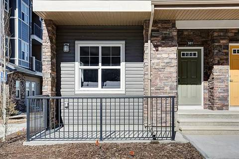 Townhouse for sale at 250 Fireside Vw Unit 301 Cochrane Alberta - MLS: C4233684