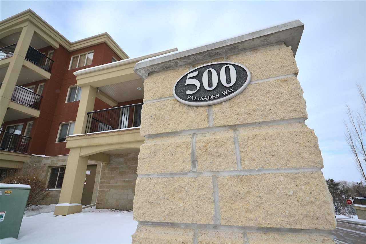 Condo for sale at 500 Palisades Wy Unit 301 Sherwood Park Alberta - MLS: E4184435