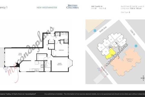 Condo for sale at 588 Twelfth St Unit 301 New Westminster British Columbia - MLS: R2503350