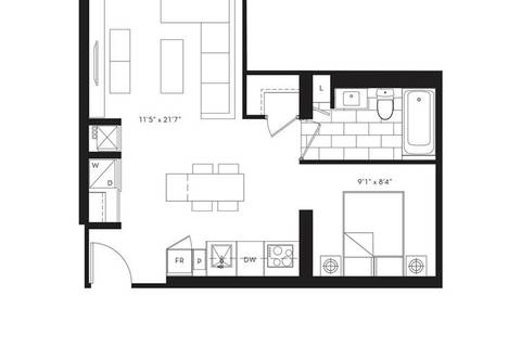Condo for sale at 77 Shuter St Unit 301 Toronto Ontario - MLS: C4624609