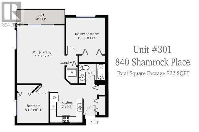 Condo for sale at 840 Shamrock Pl Unit 301 Comox British Columbia - MLS: 470536