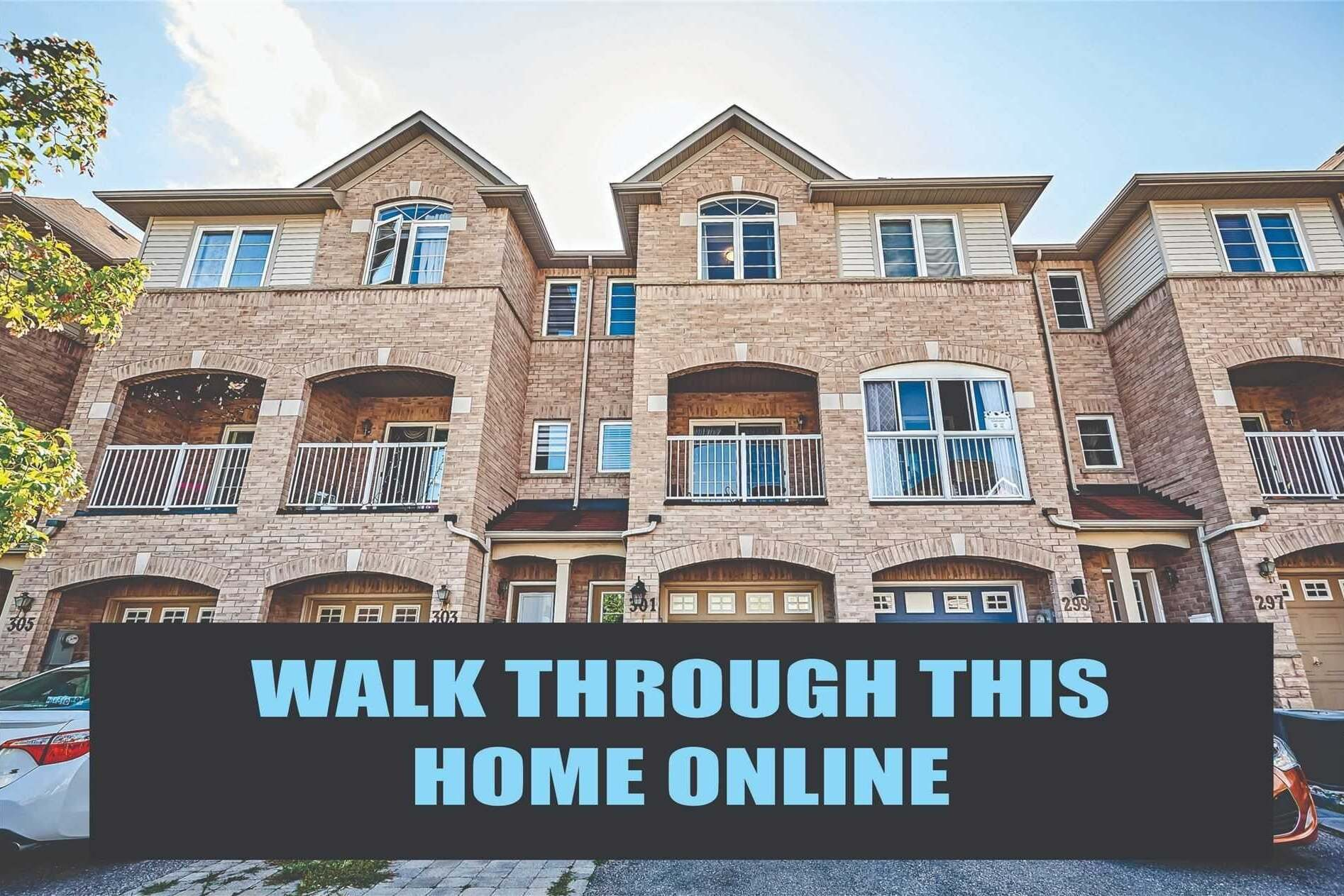 Townhouse for sale at 301 Monarch Ave Ajax Ontario - MLS: E4863420