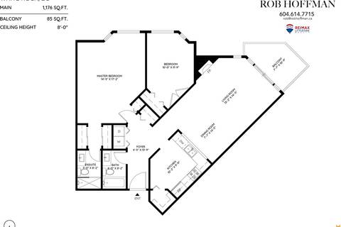 Condo for sale at 1255 Best St Unit 302 White Rock British Columbia - MLS: R2396491