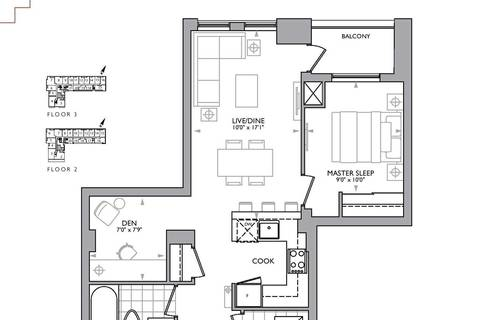 Apartment for rent at 223 St Clair Ave Unit 302 Toronto Ontario - MLS: C4680196