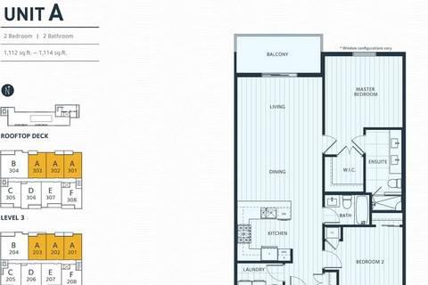 Condo for sale at 3755 Chatham St Unit 302 Richmond British Columbia - MLS: R2450274