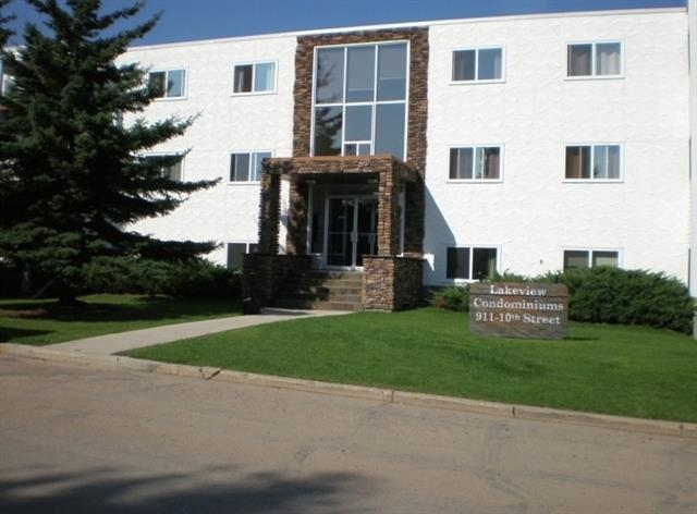 For Sale: 302 - 911 10 Street, Cold Lake, AB | 1 Bed, 1 Bath Condo for $145,000. See 8 photos!