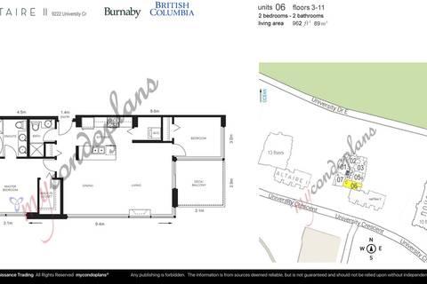 Condo for sale at 9222 University Cres Unit 302 Burnaby British Columbia - MLS: R2398964
