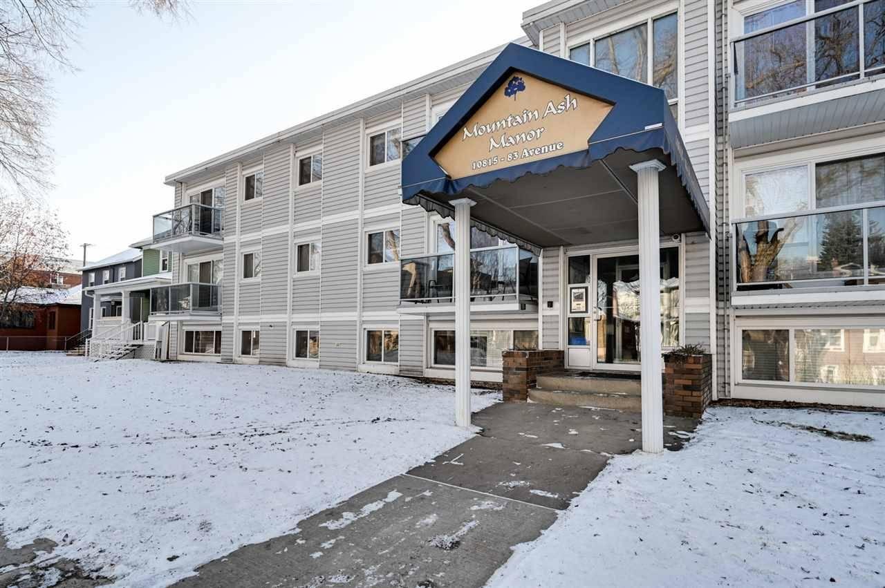 Condo for sale at 10815 83 Ave Nw Unit 303 Edmonton Alberta - MLS: E4181065
