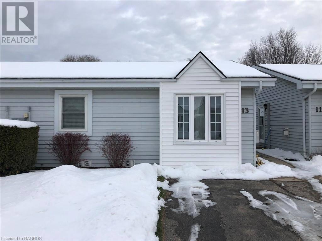Townhouse for sale at 13 Waterloo St Unit 303 Port Elgin Ontario - MLS: 232418