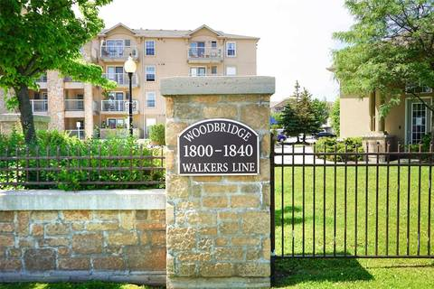 Condo for sale at 1810 Walkers Line Unit 303 Burlington Ontario - MLS: W4503174
