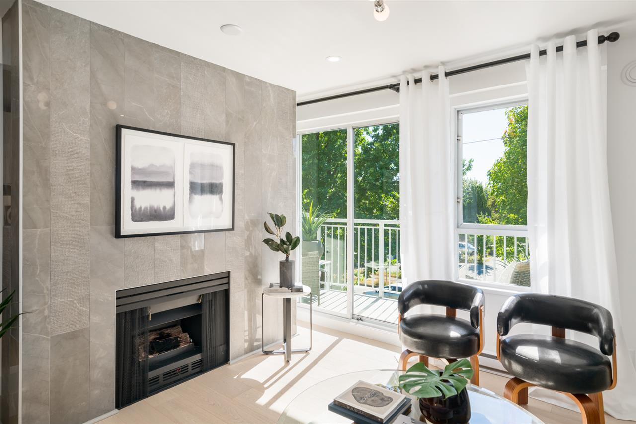 For Sale: 303 - 2736 Victoria Drive, Vancouver, BC | 2 Bed, 2 Bath Townhouse for $739,000. See 18 photos!
