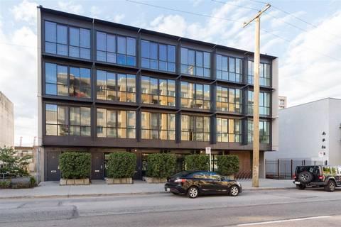 Townhouse for sale at 557 Cordova St E Unit 303 Vancouver British Columbia - MLS: R2376279