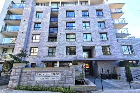 Condo for sale at 6018 Iona Dr Unit 303 Vancouver British Columbia - MLS: R2446159