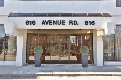 Apartment for rent at 616 Avenue Rd Unit 303 Toronto Ontario - MLS: C4722283