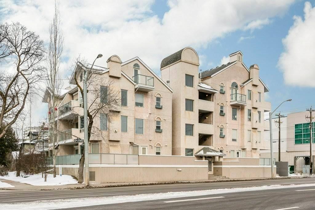 Condo for sale at 8108 109 St Nw Unit 303 Edmonton Alberta - MLS: E4193303