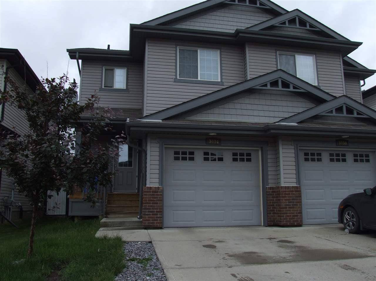 Townhouse for sale at 3034 16a Ave Nw Edmonton Alberta - MLS: E4164011