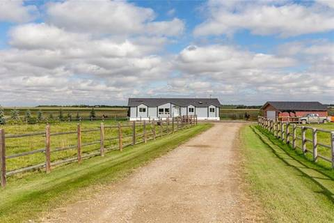 House for sale at 30361 Range Road 24  Rural Mountain View County Alberta - MLS: C4267190
