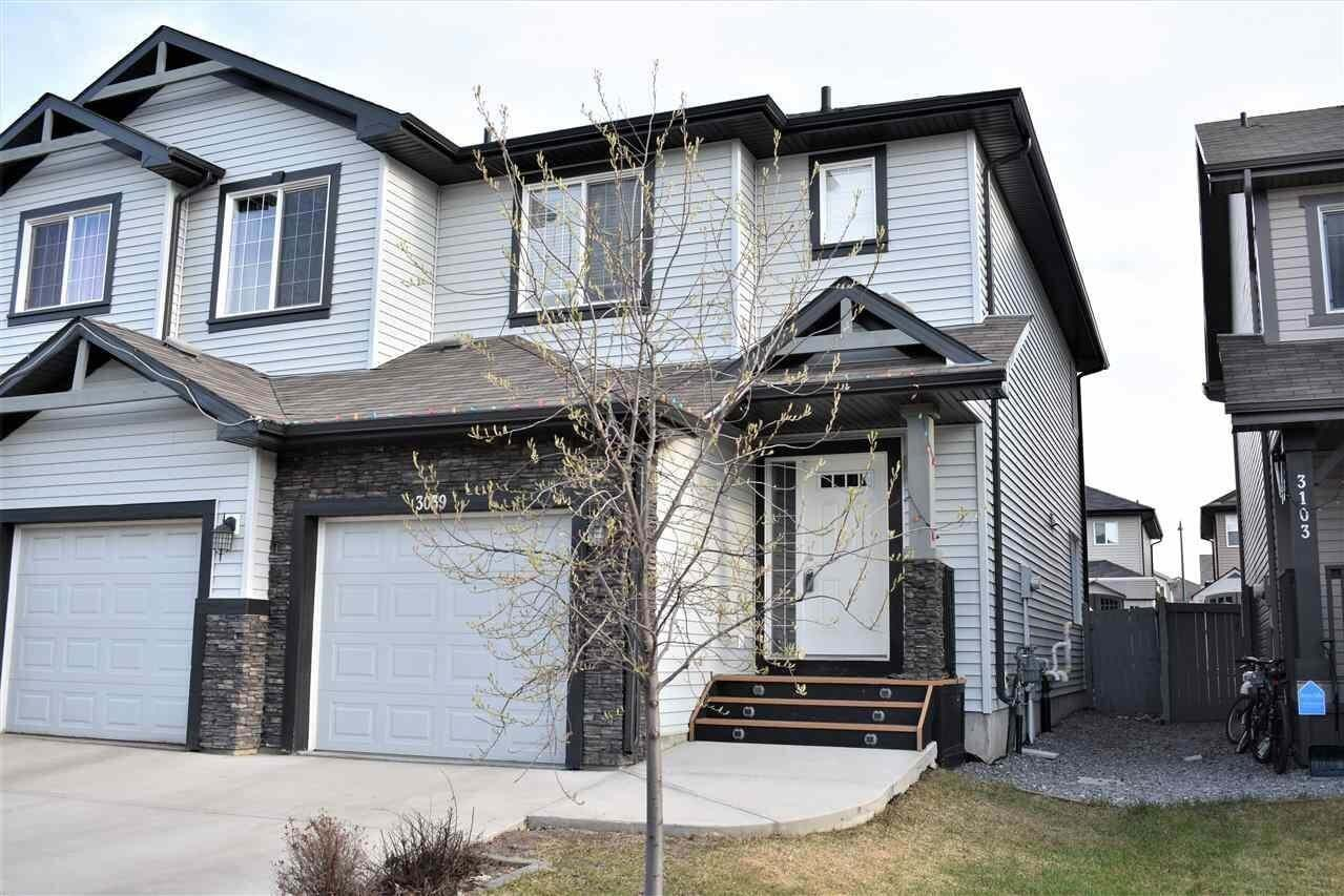 Townhouse for sale at 3039 17 Av NW Edmonton Alberta - MLS: E4193073