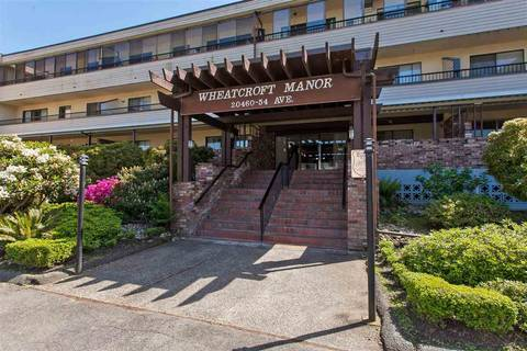 Condo for sale at 20460 54 Ave Unit 304 Langley British Columbia - MLS: R2420394