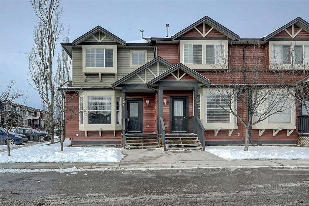 Townhouse for sale at 2066 Luxstone Bv SW Unit 304 Luxstone, Airdrie Alberta - MLS: C4297628