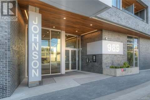 Condo for sale at 989 Johnson  Unit 304 Victoria British Columbia - MLS: 842956