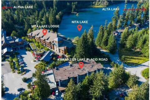 Condo for sale at 2129 Lake Placid Rd Unit 304 A/B Whistler British Columbia - MLS: R2457079