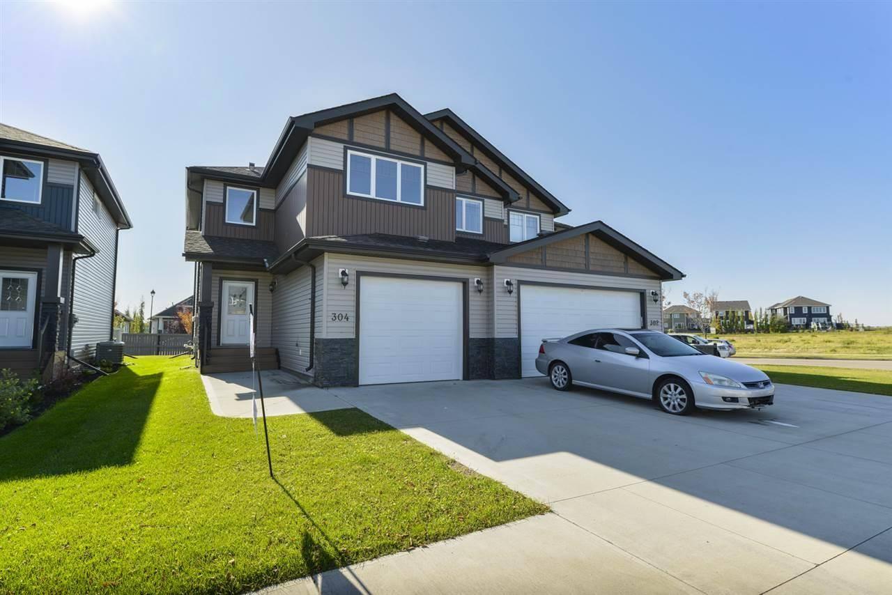 Townhouse for sale at 304 Genesis Vw Stony Plain Alberta - MLS: E4184752
