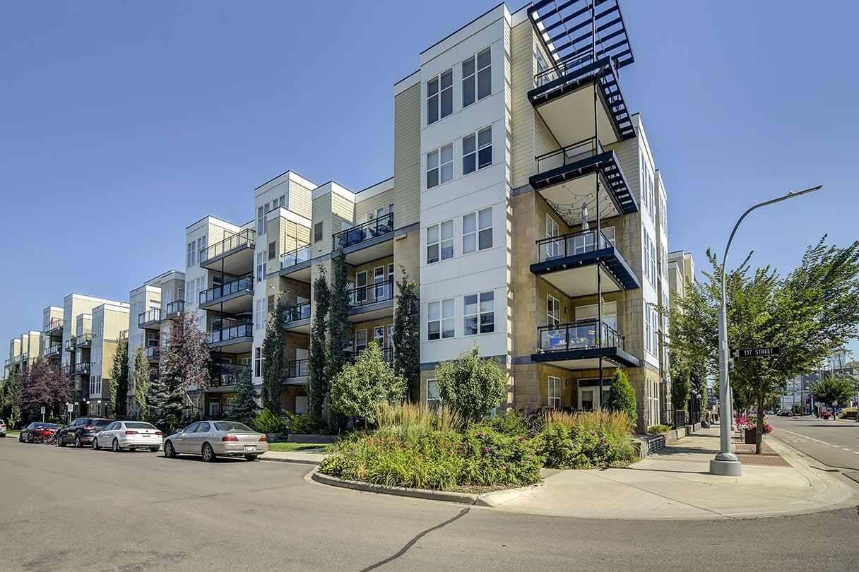 Condo for sale at 10531 117 St NW Unit 305 Edmonton Alberta - MLS: E4210907