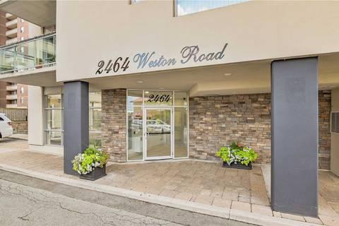 Condo for sale at 2464 Weston Rd Unit 305 Toronto Ontario - MLS: W4549058