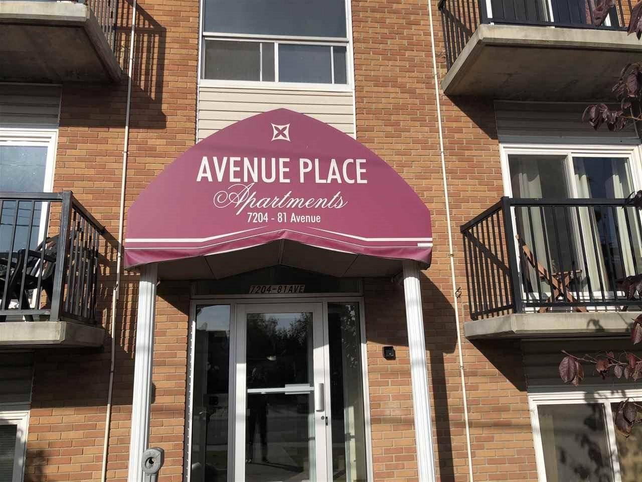 Condo for sale at 7204 81 Ave Nw Unit 305 Edmonton Alberta - MLS: E4178078