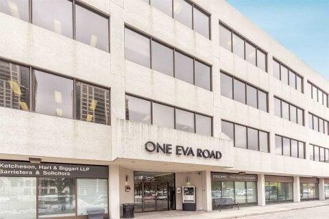 Commercial property for lease at 1 Eva Rd Apartment 306 Toronto Ontario - MLS: W4959070