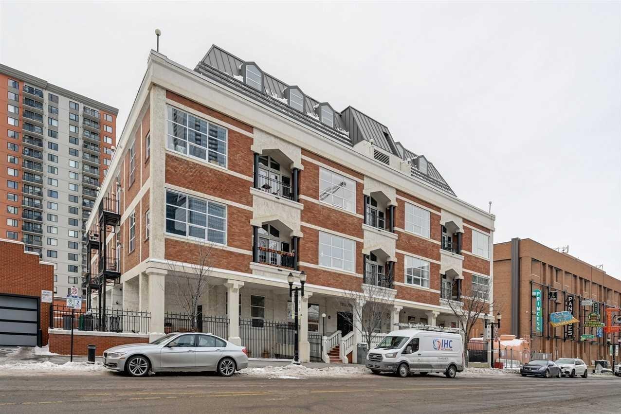 Condo for sale at 10330 104 St NW Unit 306 Edmonton Alberta - MLS: E4216575