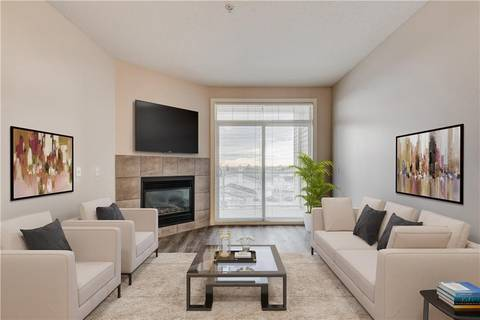 Condo for sale at 132 1 Ave Nw Unit 306 Downtown, Airdrie Alberta - MLS: C4216469