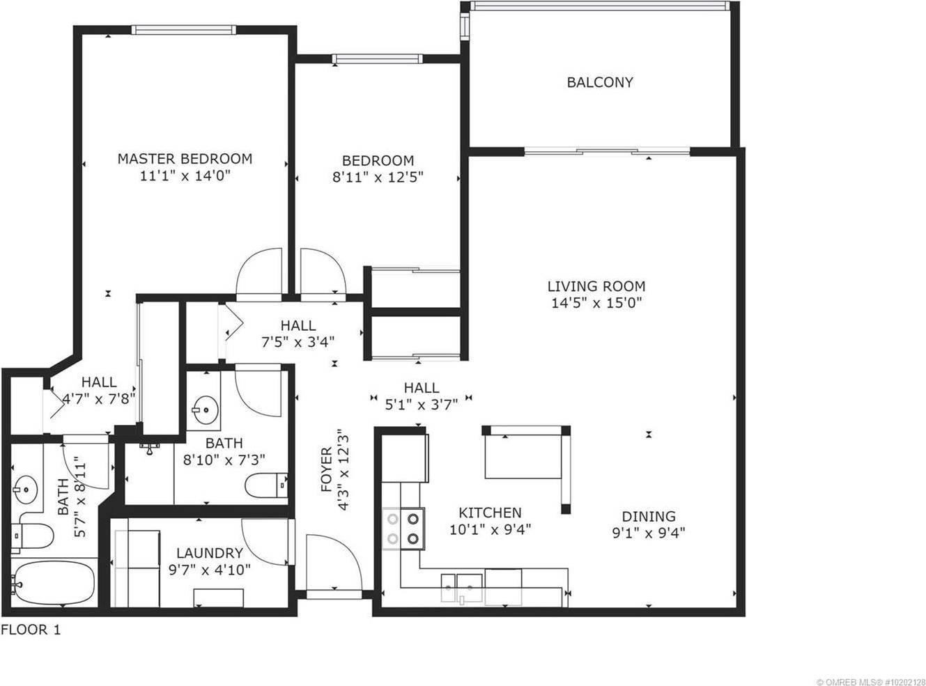 Condo for sale at 255 Mcintosh Rd Unit 306 Kelowna British Columbia - MLS: 10202128