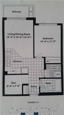 Apartment for rent at 54 Sky Harbour Dr Unit 306 Brampton Ontario - MLS: W4454489