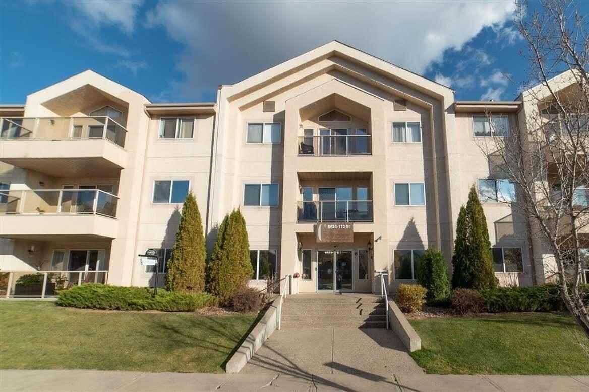 Condo for sale at 6623 172 St NW Unit 306 Edmonton Alberta - MLS: E4218220