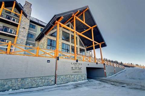 Condo for sale at 77 George Fox Tr Unit 306 Cochrane Alberta - MLS: C4277644