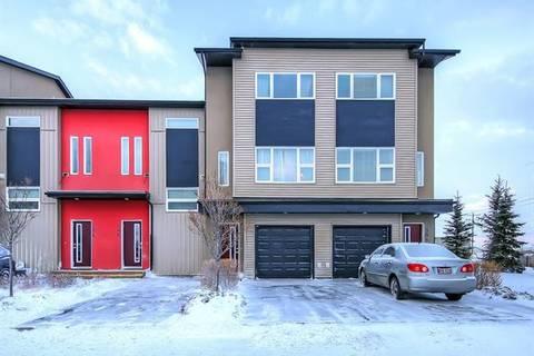 Townhouse for sale at 306 Covecreek Circ Northeast Calgary Alberta - MLS: C4223971
