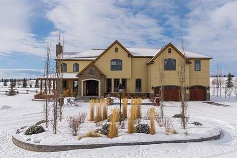 House for sale at 306055 24 St West Rural Foothills County Alberta - MLS: C4287435