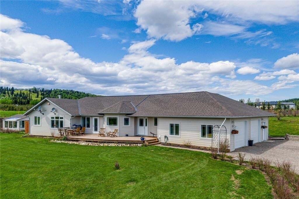 House for sale at 306365 Plummers Rd W Rural Foothills M.d. Alberta - MLS: C4299866