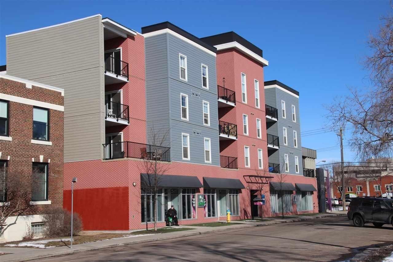 Condo for sale at 10418 81 Av NW Unit 307 Edmonton Alberta - MLS: E4191255