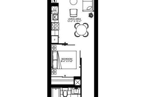 Apartment for rent at 1630 Queen St Unit 307 Toronto Ontario - MLS: E4990210