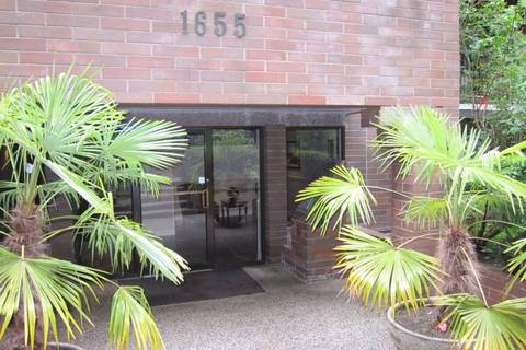 Condo for sale at 1655 Nelson St Unit 307 Vancouver British Columbia - MLS: R2418935